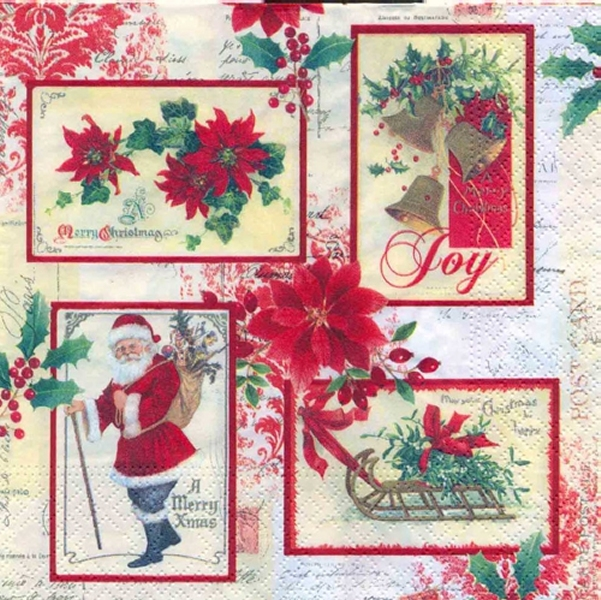 julekort-servietter
